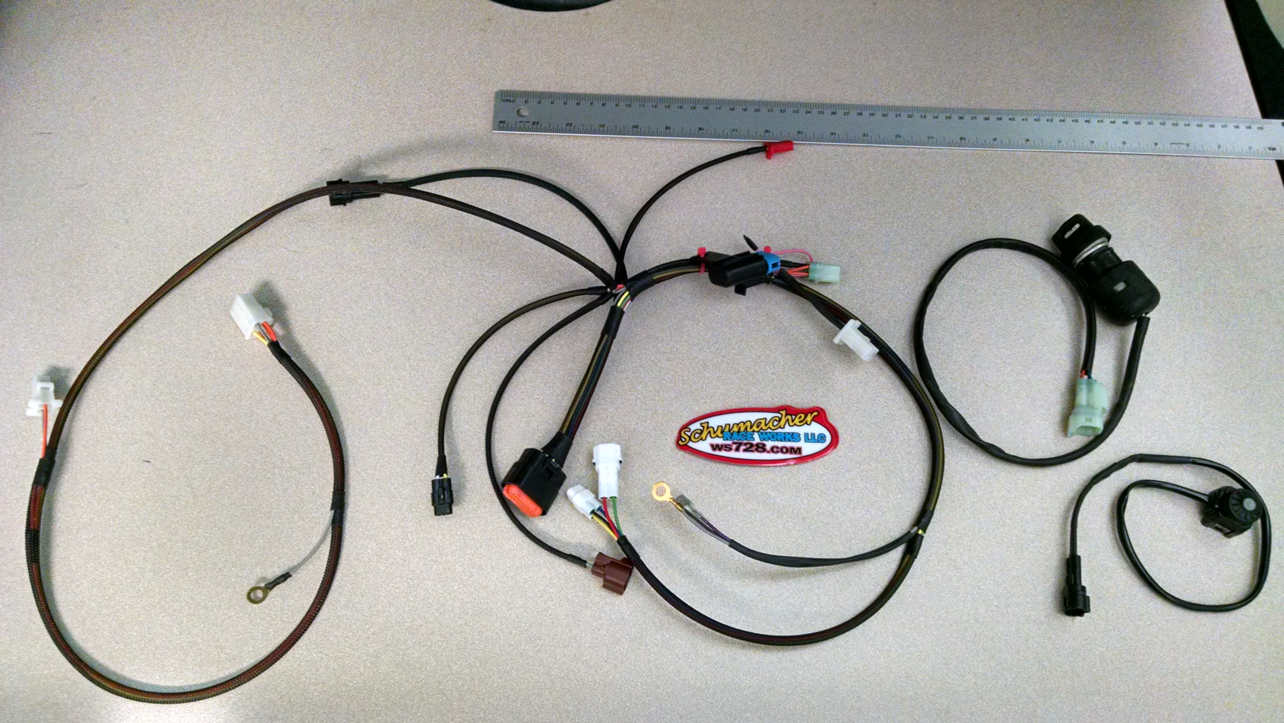 srw competition wiring harness ws728 Wire Harnes